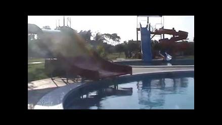 Chimbote: inspeccionan piscina de