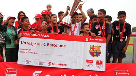 Equipo campeón de Iquitos viajará a España para jugar con Barcelona