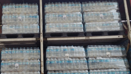 Donan más de 40 mil litros de agua a damnificados por lluvias