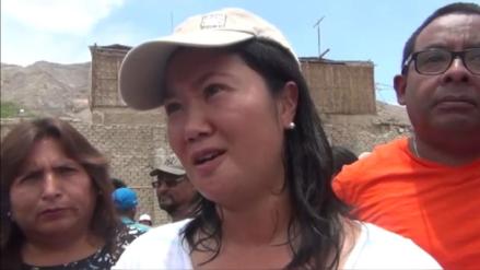 """Keiko sobre prisión preventiva a Toledo: """"Es una sanción ejemplar"""""""