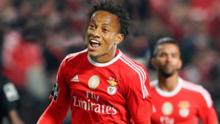 Golazo de André Carrillo en goleada del Benfica en Portugal
