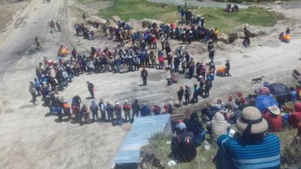 Buscan diálogo tras estado de emergencia por paro en Challhuahuacho