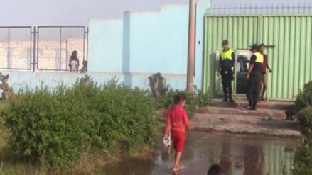 Dos colegios de Pasco presentan daños por fuertes lluvias