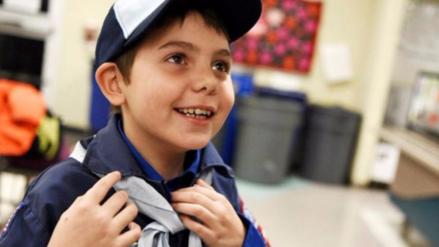 Aceptan por primera vez  a un niño transgénero como Boy Scout en EEUU
