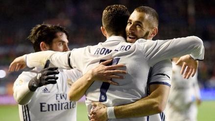 Real Madrid venció al Osasuna y se aseguró el primer lugar de LaLiga