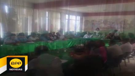 Autoridades liberteñas se reunieron ante emergencia que afrontan por lluvias
