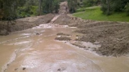Más de 200 kilómetros de carreteras fueron afectados por lluvias