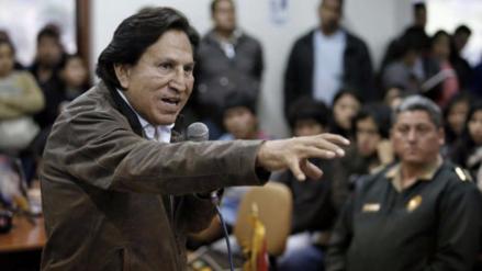 """Israel: """"Toledo solo podrá entrar cuando solucione sus asuntos en el Perú"""""""