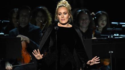 Video | Adele detuvo tributo a George Michael en los Premios Grammy
