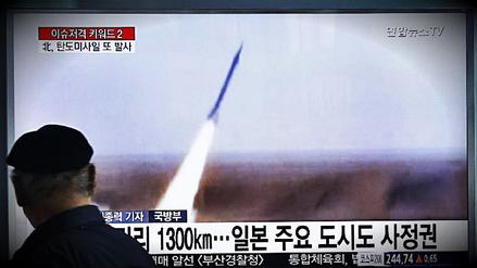 Condena internacional tras lanzamiento de misil balístico de Corea del Norte