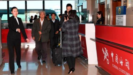 Un soldado chino regresa a su país después de 54 años