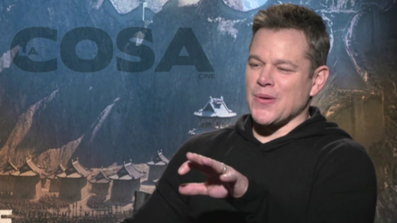 Video | Matt Damon cantó cumbia durante entrevista