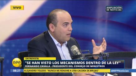 """Fernando Zavala: """"El Departamento de Estado puede deportar a Toledo"""""""