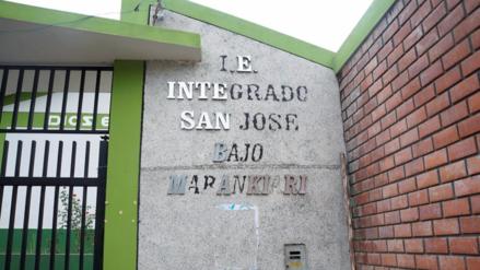 Chanchamayo: colegio inaugurado hace menos de un año presenta deficiencias