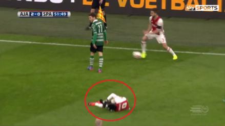 Pidió parar el juego por la lesión de su compañero pero él siguió atacando