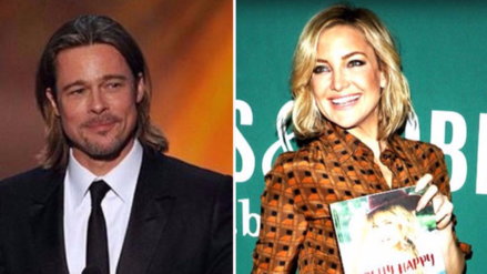 Brad Pitt olvidó a Angelina Jolie con Kate Hudson