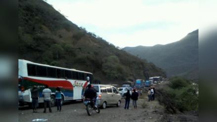 Jaén: deslizamiento de cerro afectó viviendas y pista en Sallique