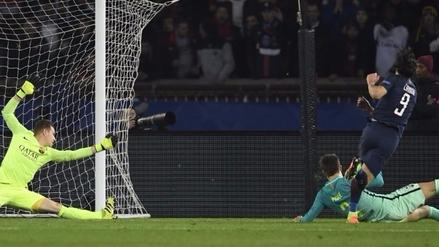 El gol de Edinson Cavani que sentenció al Barcelona