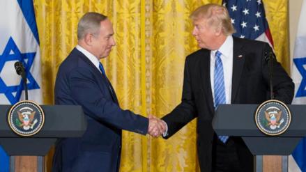 Trump sobre Israel y Palestina: