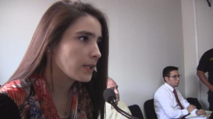 Katiuska dice que acusación de la Fiscalía es subjetiva