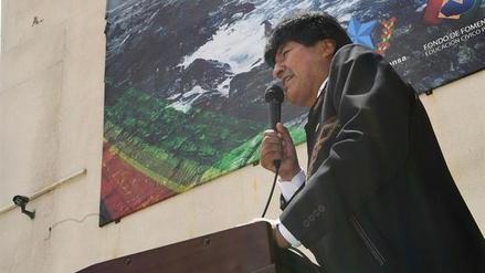 """Evo Morales sobre Chile en La Haya: """"Son 138 años de injusticia"""""""