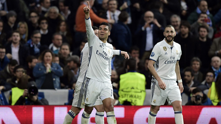 Casemiro metió un fantástico gol para el 3-1 de Real Madrid ante Nápoli