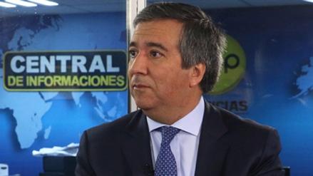Gobierno aceptó renuncia de viceministro de Energía Raúl Pérez-Reyes