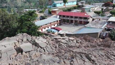 Cajamarca: deslizamiento amenaza a Sallique