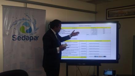 Tarifas de agua subirán en 14% en Arequipa