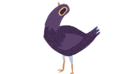 Sticker de paloma es viral en Facebook