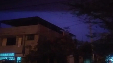 Fuertes lluvias se vienen presentando en la ciudad de Piura