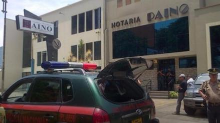 A 15 años fueron condenados los implicados en crimen de la notaría Paíno