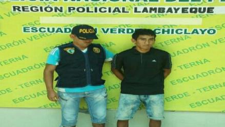 Grupo Terna captura a sujeto que robó celular a joven estudiante