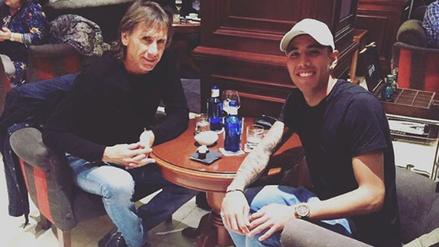 Ricardo Gareca se reunió con Sergio Peña pensando en las Eliminatorias