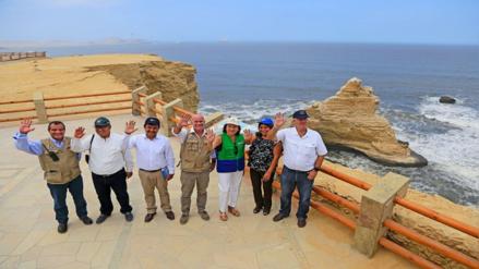 Inauguran nuevo circuito turístico en Reserva Nacional de Paracas
