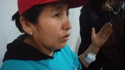 Canes callejeros atacaron a mujer en Mariano Melgar