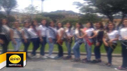 Candidatas a señorita Carnaval realizan campaña de cuidado a la ciudad