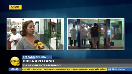 El vigilante asesinado en Independencia deja tres hijos en la orfandad
