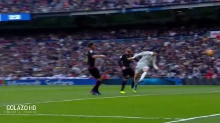 Alvaro Morata anotó para Real Madrid luego de un gran centro de Isco