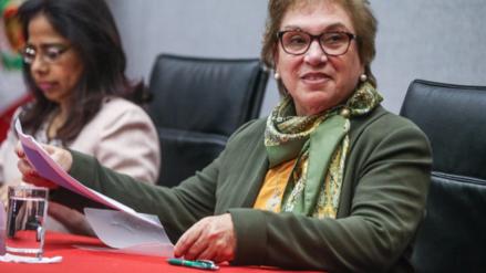 La ministra de la Mujer será interrogada este lunes por la Comisión Lava Jato