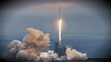 Así fue el lanzamiento de SpaceX desde la histórica plataforma lunar de la NASA