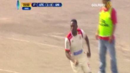 Luis Tejada anotó su primer gol con la camiseta de Universitario ante UTC