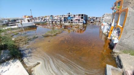 Chiclayo: cementerio de San José permanece inundado hace veinte días