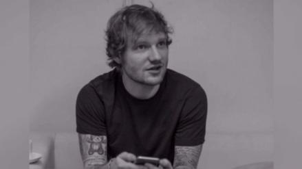 Por qué Ed Sheeran decidió no tener celular