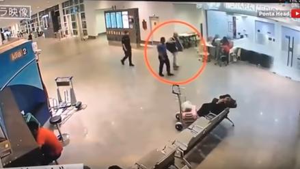 Difunden video de la secuencia completa del ataque a Kim Jong-nam