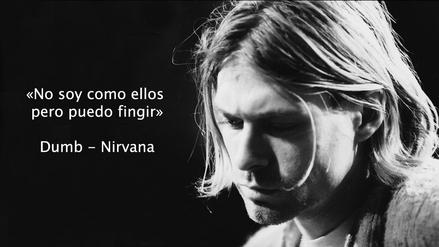 Fotos 9 Frases De Kurt Cobain En Canciones De Nirvana