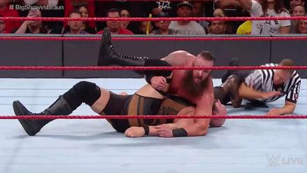 Braun Strowman sigue imparable en la WWE tras derrotar al Big Show
