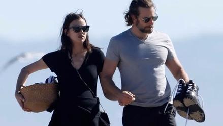 Irina Shayk dejó ver su embarazo junto a Bradley Cooper