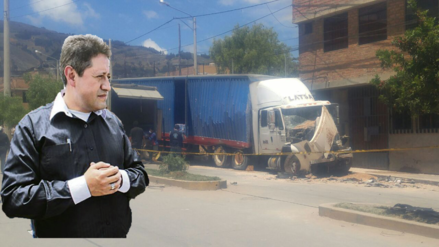 """Alcalde de Cajamarca: """"detractores y candidatos sacan provecho político de accidente"""""""