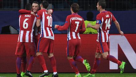 Atlético de Madrid mantiene la potencia en Champions tras ganar 4-2 al Leverkusen